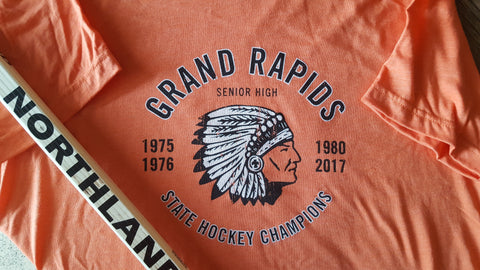 Grand Rapids Indians State Hockey Champions