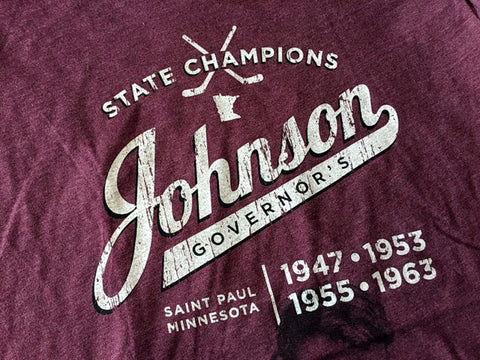 Johnson Governor's State Hockey Champions