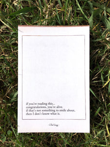 You're Alive - Mini Print