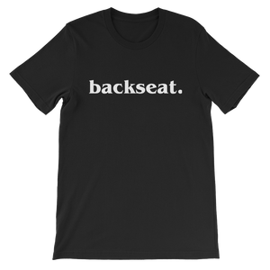 backseat. Shirt
