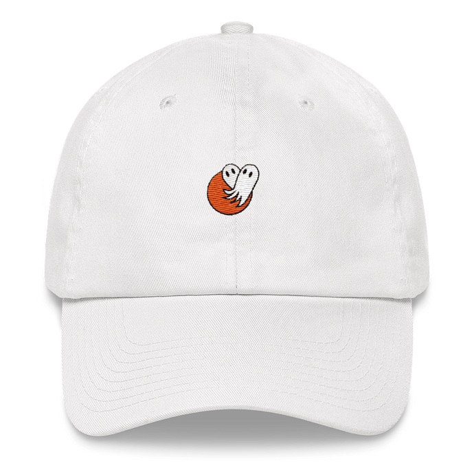 Ghost Heart Dad Hat
