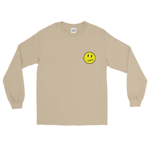 Unsure Smiley Long Sleeve Tee