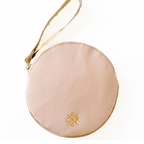 Cecylia Clutch - Blush & Bone