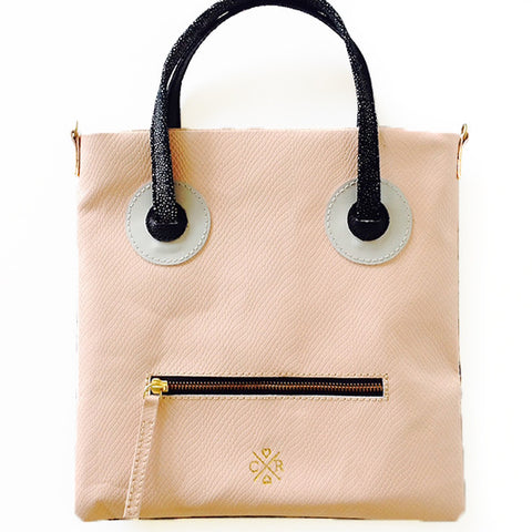 ETTA-MAY Tote - Blush & Black