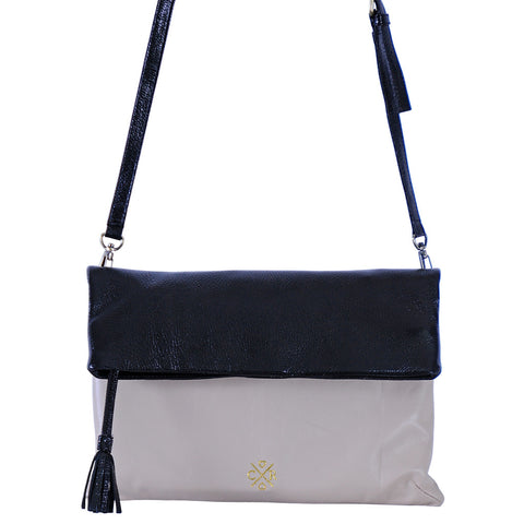 ETTA Cross-body - Bone & Black