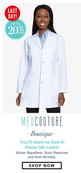 Boutique Lab Coats Collection by Med Couture