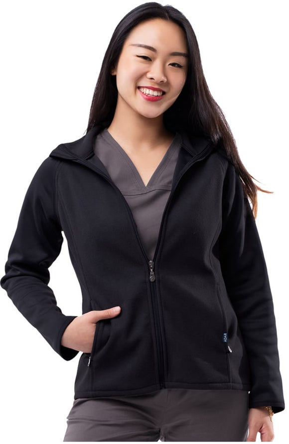 Performance Full Zip Bonded Fleece Jacket by Adar