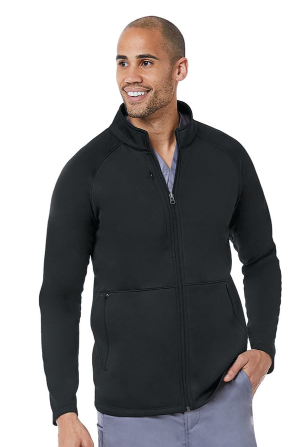 Men's Warm-Up Bonded Fleece Jacket by Maevn S-3XL
