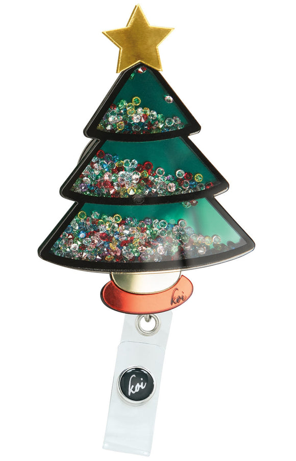 koi Shaker Badges Christmas Tree