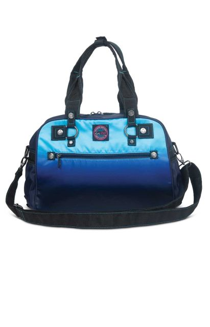 koi Electric Blue/Navy Ombre Utility Bag