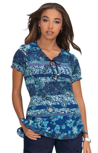 koi Bridgette Top- Bohemian Stripe XXS-3XL