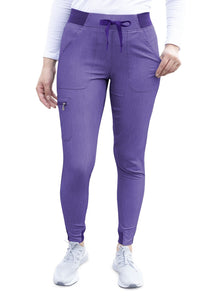 Pro Heather Collection Jogger Scrub Pant by Adar XS-3XL (Tall)