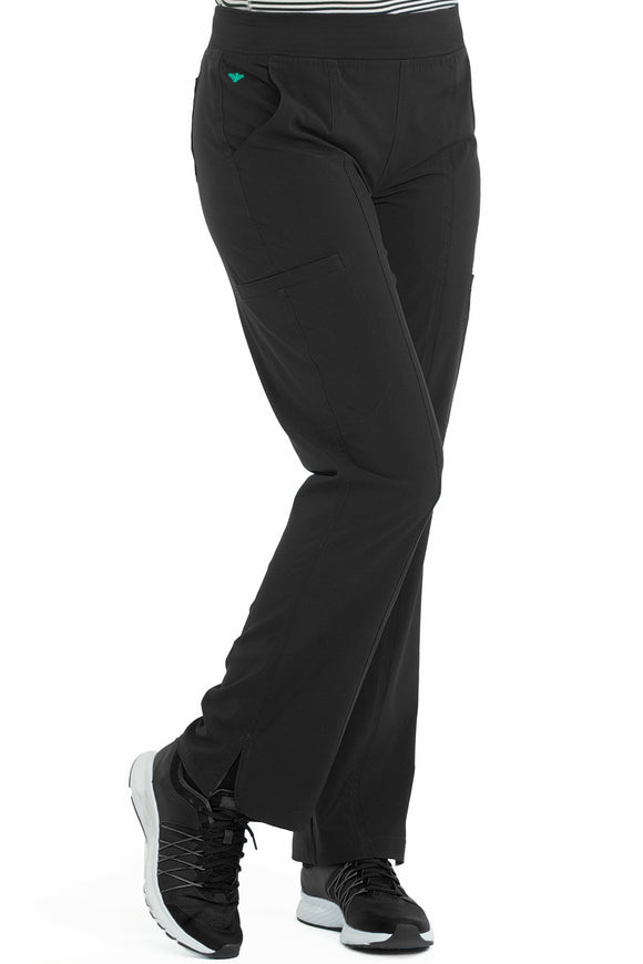 Yoga 2 Cargo Pocket Pant by Med Couture (Petite) XS-2XL