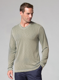 Men's Long Sleeve Modal Tee by Maevn