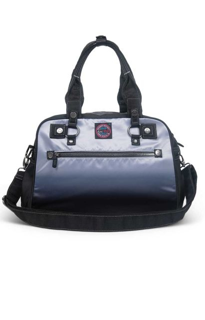 koi Platinum Grey/Black Ombre Utility Bag