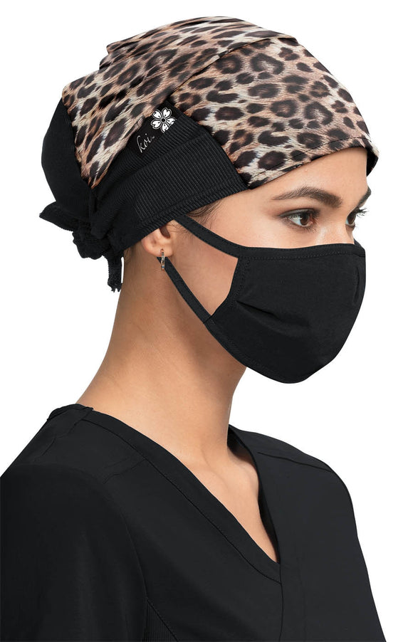 Surgical Hat Real Leopard