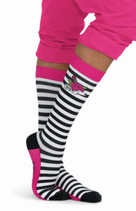 koi Betsey's Stripe Compression Sock 1-pack