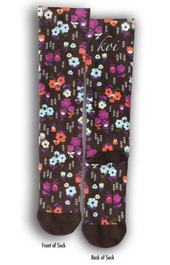 koi Garden Cover Compression Socks 1-pack
