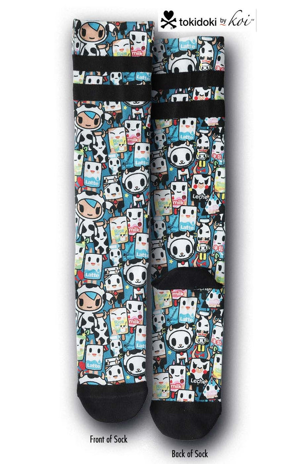 Unisex tokidoki Mozzarella Compression Socks 3-pk