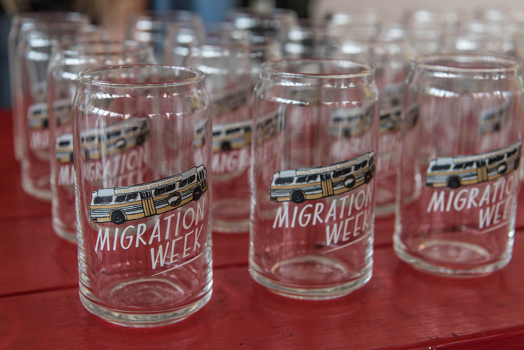 Migration Week Beer Glasses - Goose Island Beer