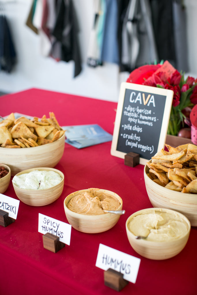 cava hummus and pita #hedleybturns4