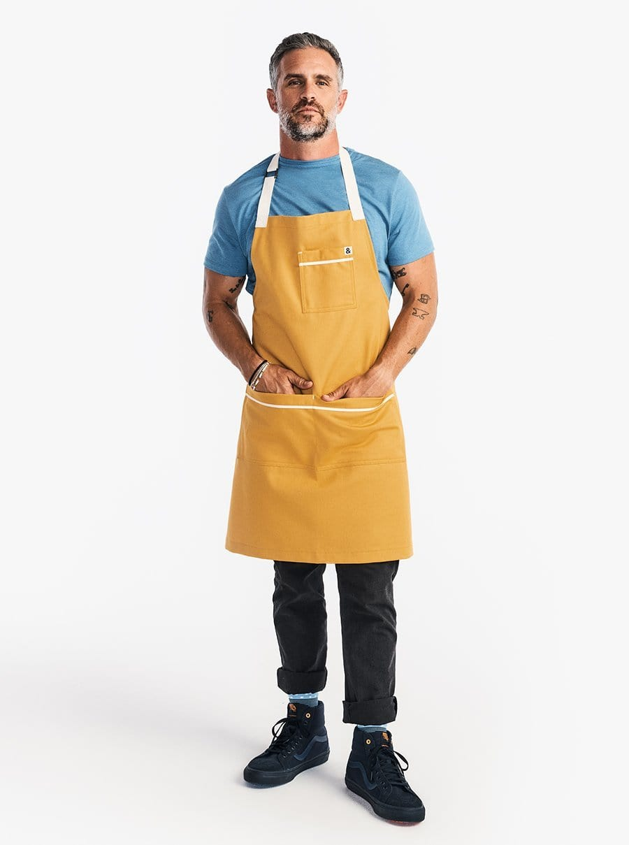 The Carryall Apron - Egg Yolk