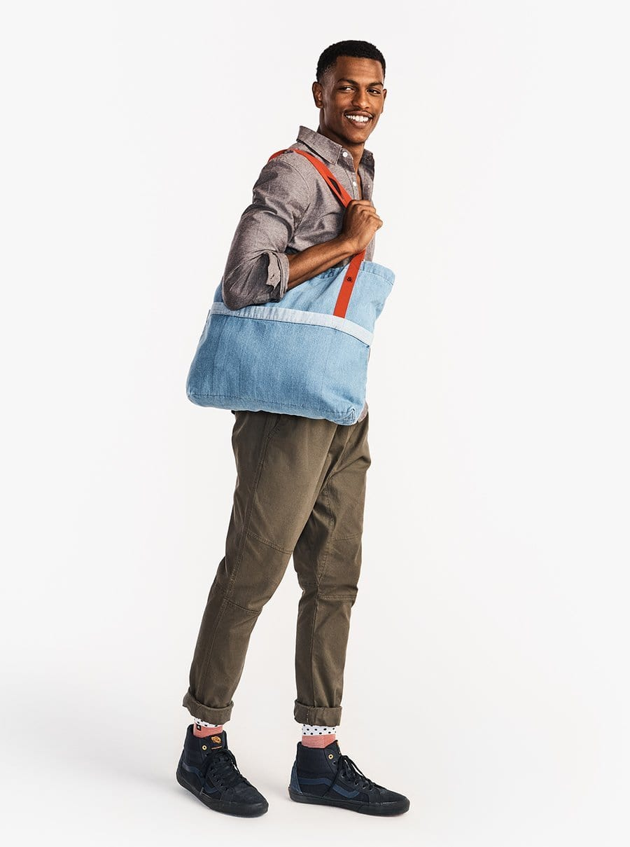 The Denim Tote - Medium Wash Denim