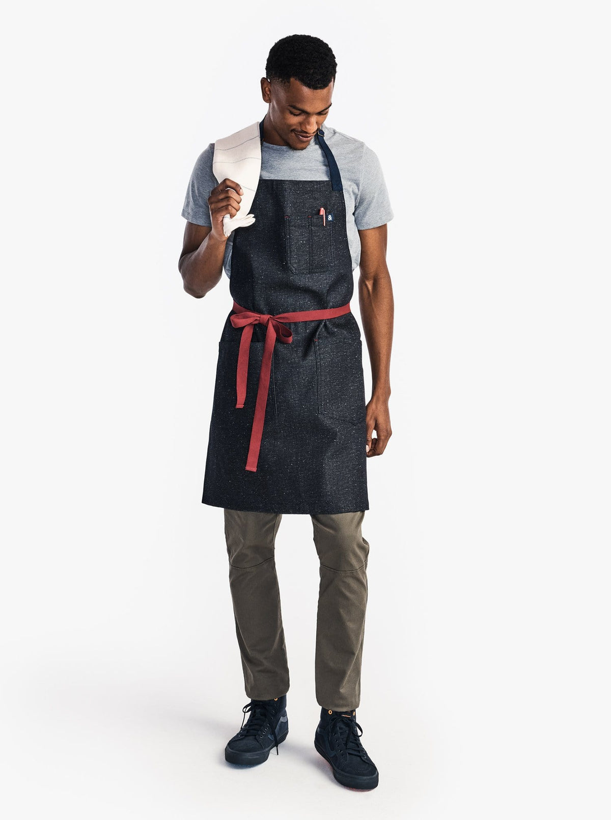 The Essential Apron - Blackberry