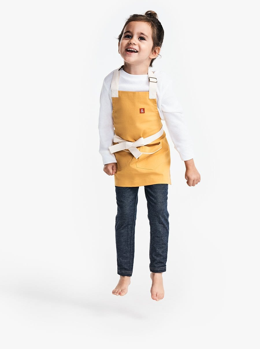 The Kids Apron - Egg Yolk