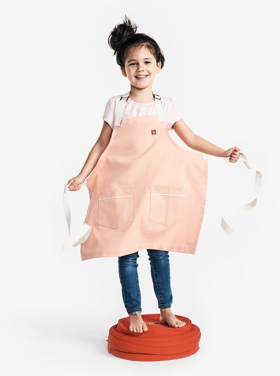 The Kids Apron - Rose Bud