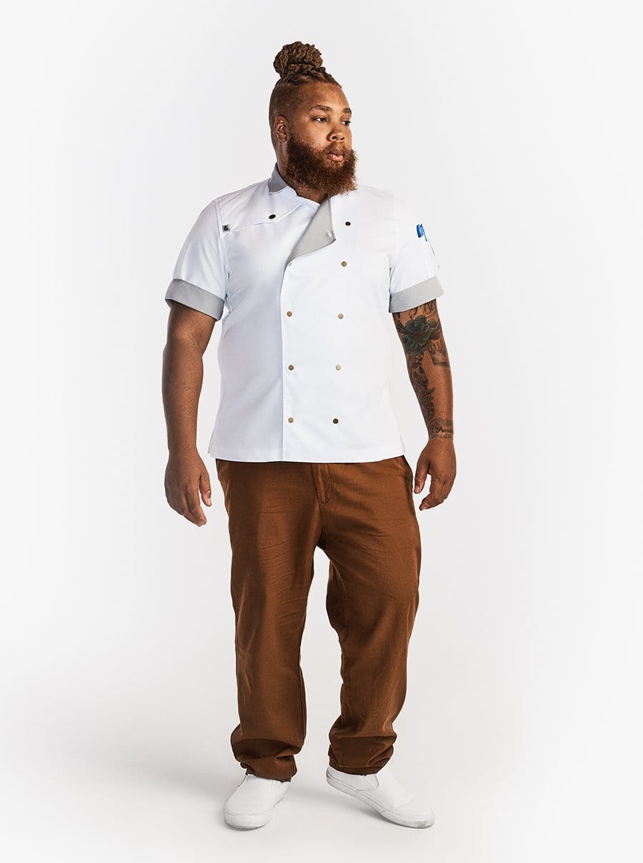 Chef Coat - Salt Brass