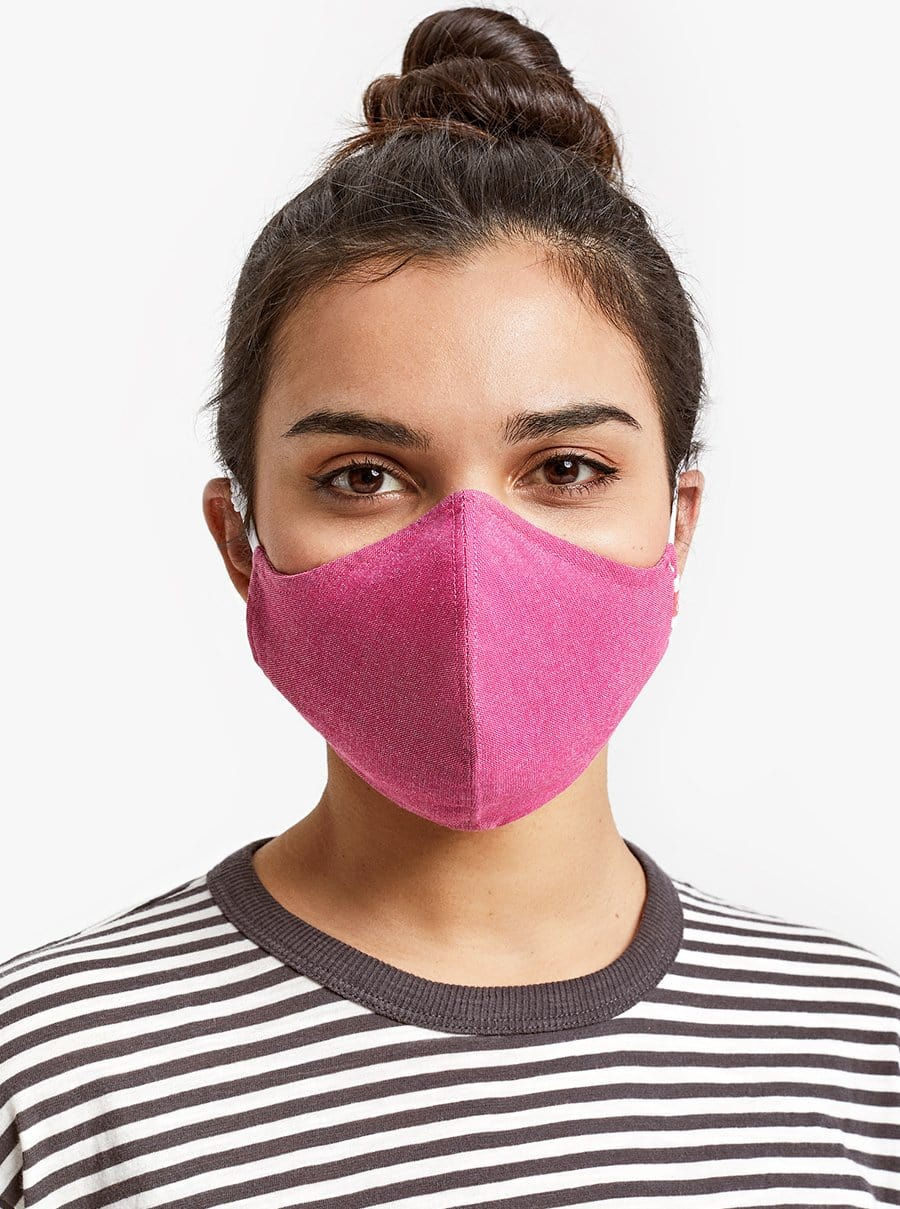The Wake Up & Fight Mask 3 Pack - Pink, Black, Purple