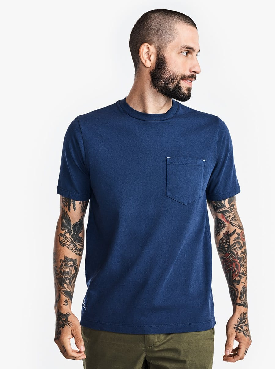 The Work Tee - Blueprint