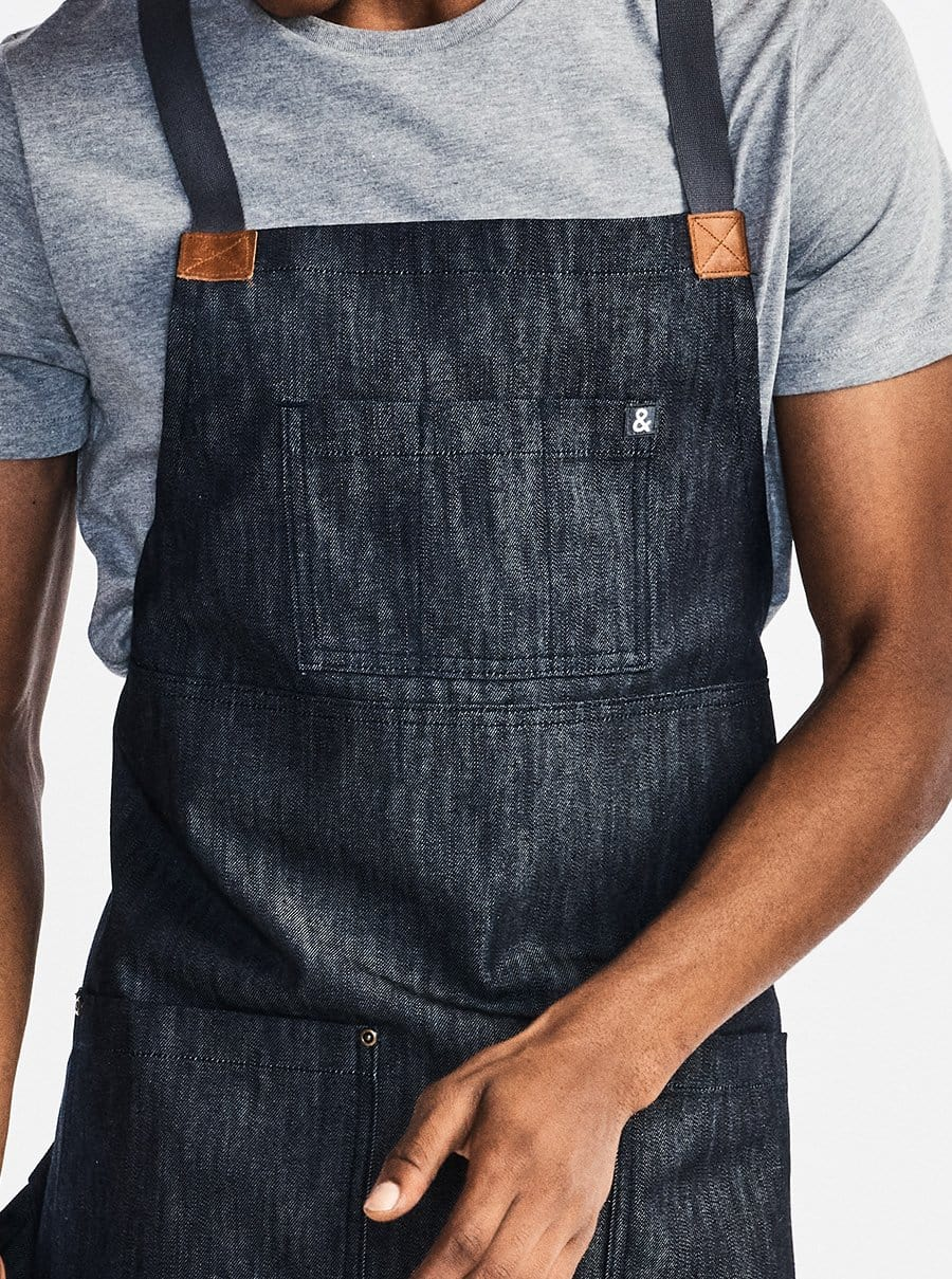 The Heavy Duty Crossback Apron - Jack