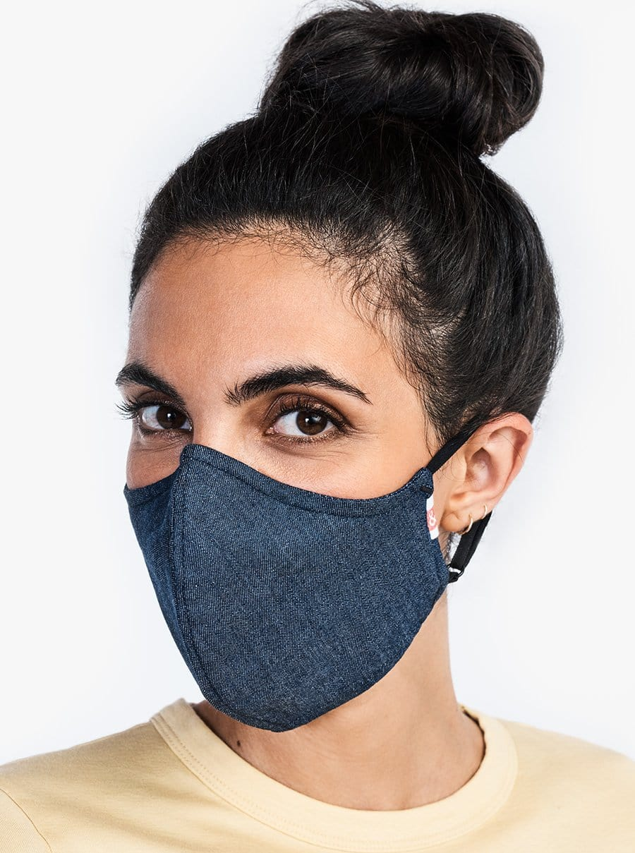 The Wake Up & Fight Mask 3 Pack - Dark Blue, Light Blue, Beige