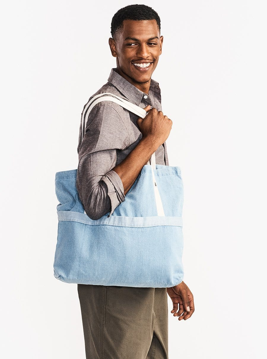 The Denim Tote - Light Wash Denim