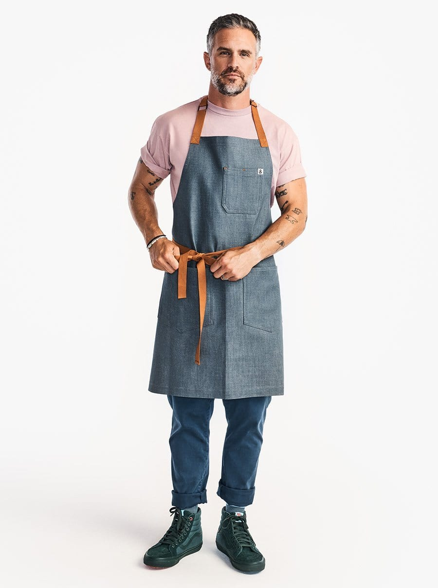 The Essential Apron - Cedar