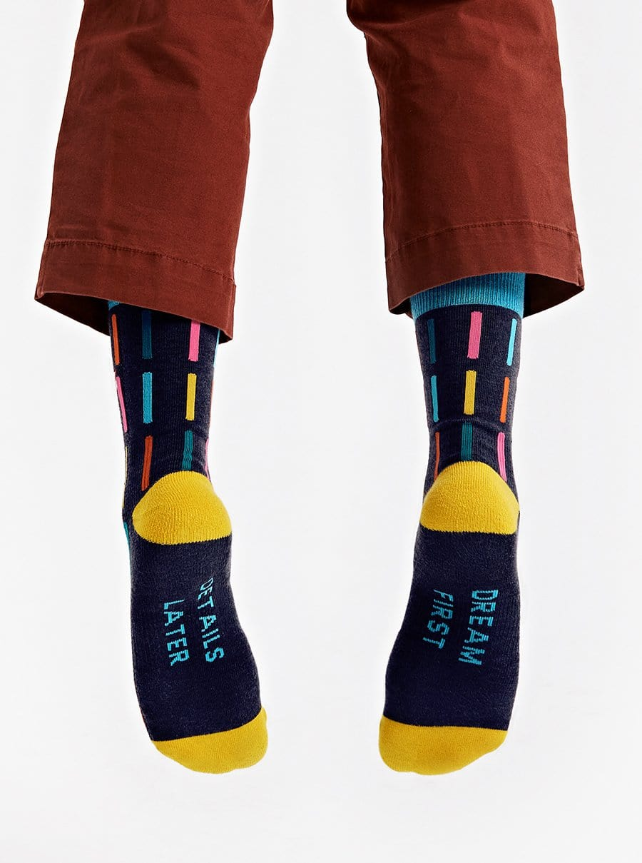 The Socks - Dream First Details Later - Navy