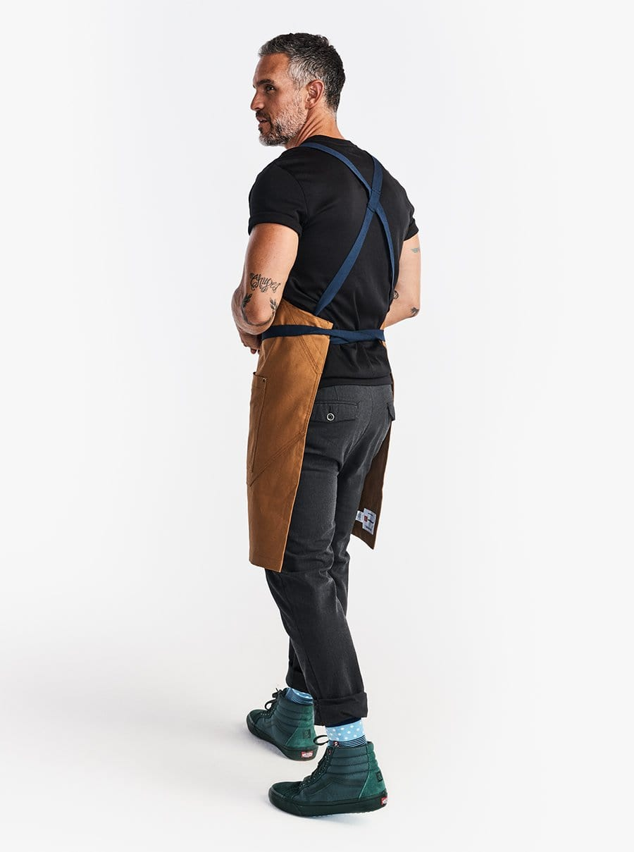 The Heavy Duty Crossback Apron - Denver