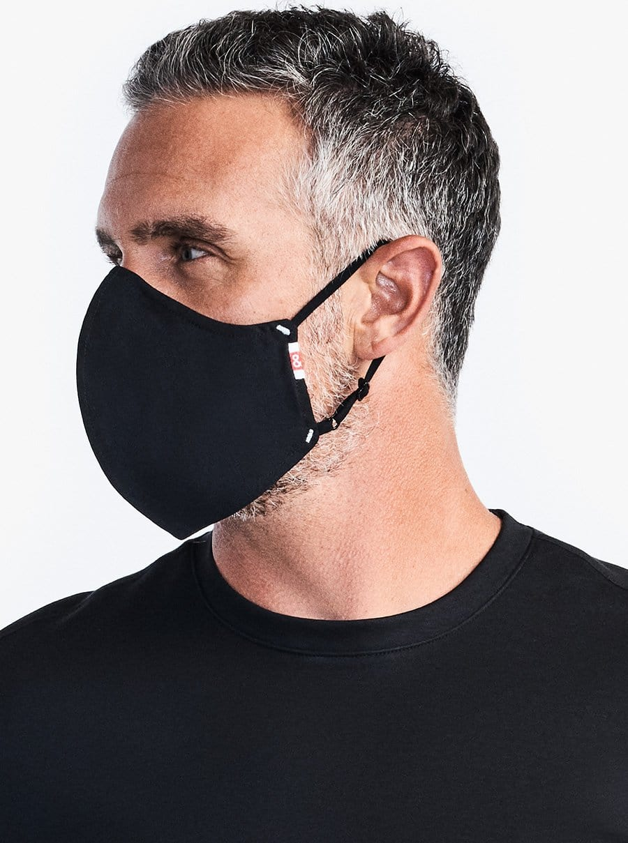 The Wake Up & Fight Mask 3 Pack - Black Oxford
