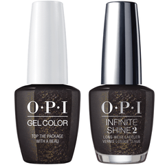 OPI GelColor Top The Package With A Beau #J11 + Infinite Shine #J50