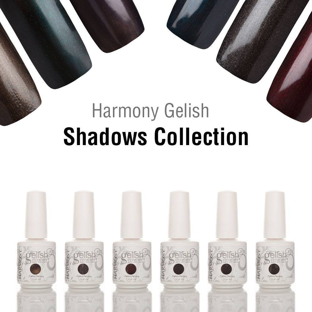 Harmony Gelish The Shadows Collection (Full Set) - Universal Nail Supplies