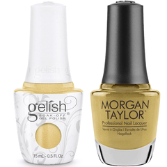 Harmony Gelish Just Tutu Much #1110277 + Morgan Taylor #3110277