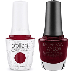 Harmony Gelish Don't Toy With My Heart #1110276 + Morgan Taylor #3110276