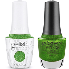 Harmony Gelish You Crack Me Up #1110273 + Morgan Taylor #3110273