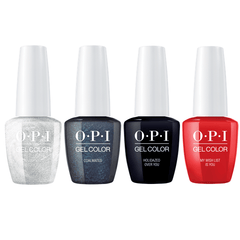 OPI GelColor Love Collection 0.25 oz Set of 4