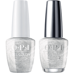 OPI GelColor Ornament To Be Together #J02 + Infinite Shine #J41