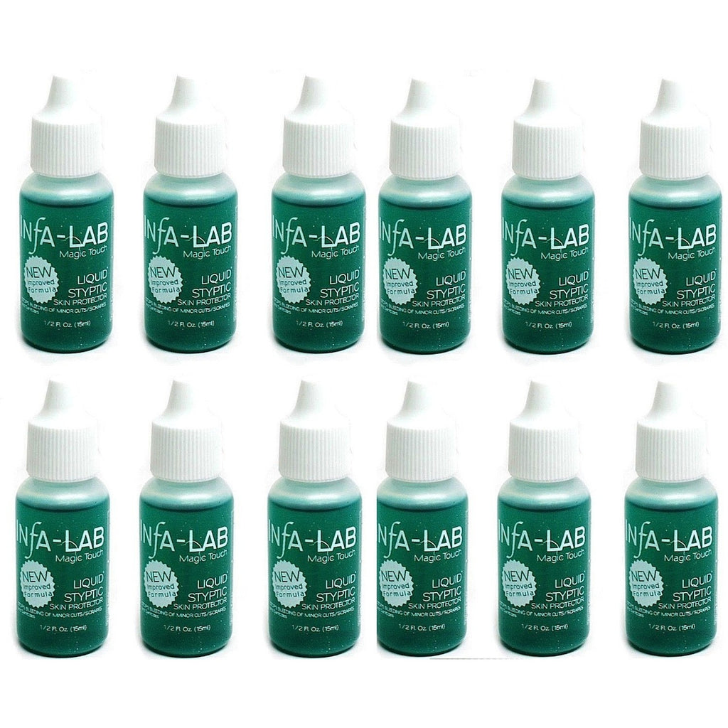 Infalab Magic Touch Liquid Styptic 0.5oz (12ct) - Universal Nail Supplies