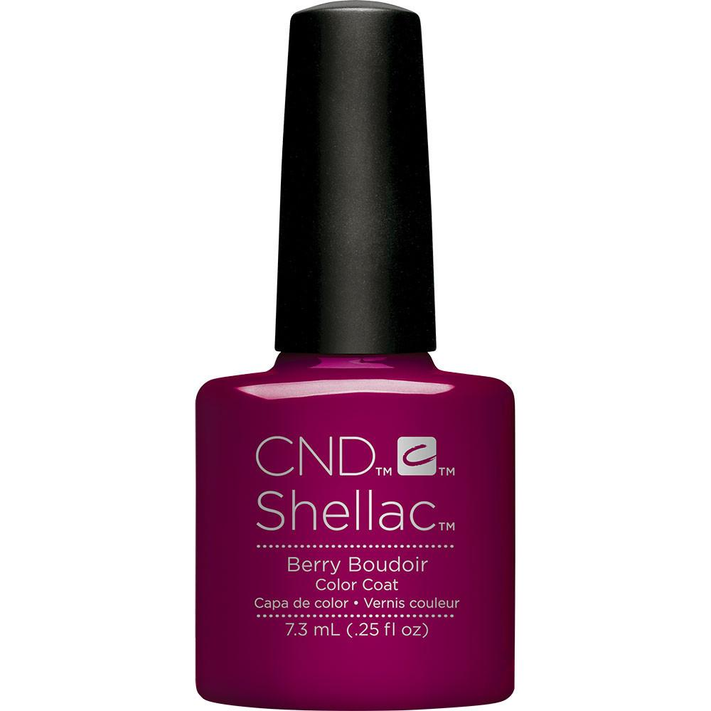 CND Creative Nail Design Shellac - Berry Boudoir - Universal Nail Supplies