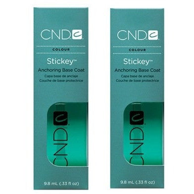 CND Stickey Anchoring Base Coat 2ct 0.33 oz - Universal Nail Supplies